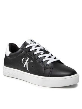 Calvin Klein Jeans Calvin Klein Jeans Sneakersy Cupsole Laceup Sneaker YM0YM00284 Černá