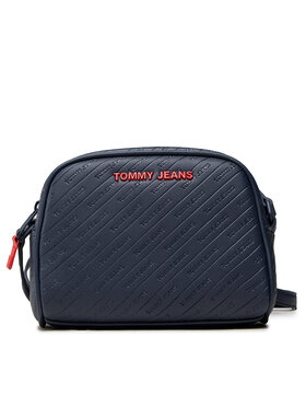 Tommy Jeans Tommy Jeans Torebka Tjw Pu Crossover Emboss AW0AW10674 Granatowy