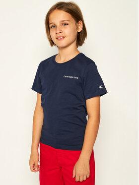 Calvin Klein Jeans Calvin Klein Jeans Póló IB0IB00456 Sötétkék Regular Fit