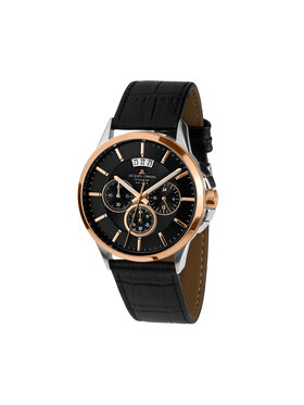 Jacques Lemans Jacques Lemans Часовник 1-1542C Черен