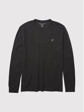 American Eagle American Eagle Тениска с дълъг ръкав 017-2171-1530 Сив Standard Fit