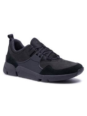 Clarks Clarks Sneakers TriActive Lace 261525207 Negru