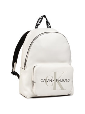 Calvin Klein Jeans Calvin Klein Jeans Batoh Campus Bp W/Pckt 40 K60K607201 Bílá