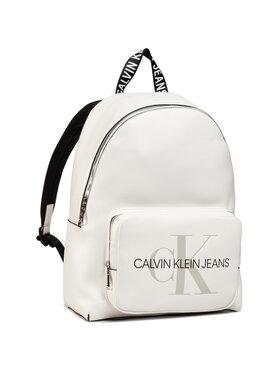 Calvin Klein Jeans Calvin Klein Jeans Σακίδιο Campus Bp W/Pckt 40 K60K607201 Λευκό