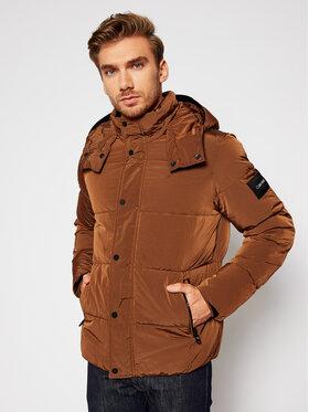 Calvin Klein Calvin Klein Pernate jakne Crinkle K10K105970 Smeđa Regular Fit