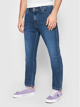 Wrangler Wrangler Jeans Texas W12SAO67S Blu scuro Slim Fit