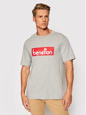 United Colors Of Benetton United Colors Of Benetton T-Shirt 3096J17H6 Grau Regular Fit