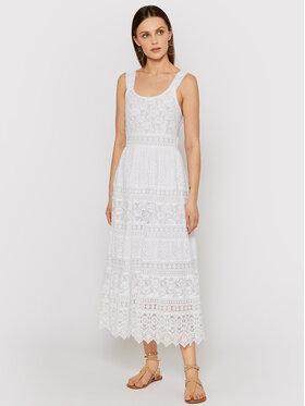 Iconique Iconique Лятна рокля Lila IC21 006 Бял Regular Fit
