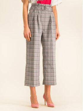 Guess Guess Текстилни панталони Sarah W01B87 WCNF0 Сив Regular Fit