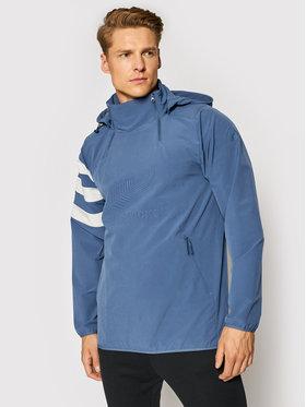 adidas adidas Geacă fără fermoar All Blacks All-Weather EH5571 Albastru Regular Fit