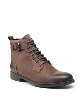 Geox Geox Μπότες U Jaylon A U16Y7A 000CL C9004 Καφέ