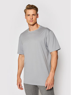 Hanro Hanro T-Shirt Night & Day 5430 Γκρι Regular Fit