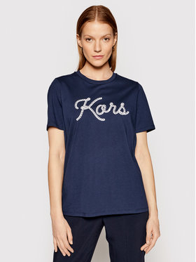 MICHAEL Michael Kors MICHAEL Michael Kors T-shirt MS1501197J Blu scuro Regular Fit