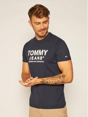 Tommy Jeans Tommy Jeans T-Shirt Tjm Essential Front Logo DM0DM08349 Σκούρο μπλε Regular Fit