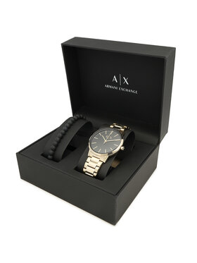 Armani Exchange Armani Exchange Uhr Cayde Gift Set AX7119 Goldfarben