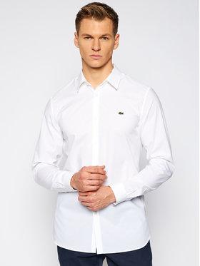 Lacoste Lacoste Camicia CH2668 Bianco Slim Fit