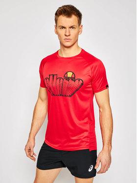 Ellesse Ellesse Funkčné tričko Duece SXG09856 Červená Regular Fit