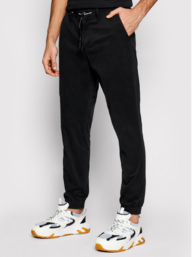 Calvin Klein Jeans Calvin Klein Jeans Joggers kalhoty J30J317993 Černá Slim Fit