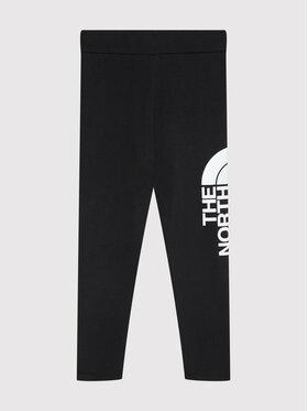 The North Face The North Face Leginsai Cotton Blend Big Logo NF0A3VEHKY41 Juoda Slim Fit