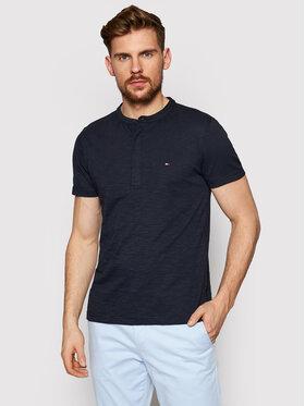 Tommy Hilfiger Tommy Hilfiger Polo marškinėliai Slub Ss Henley MW0MW17712 Tamsiai mėlyna Regular Fit