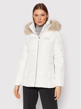 Calvin Klein Calvin Klein Kurtka puchowa Essential K20K203129 Biały Regular Fit