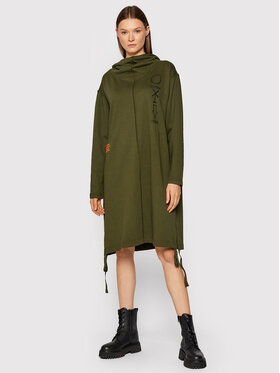 G-Star Raw G-Star Raw Плетена рокля Hdd Long D20467-A613-6059 Зелен Regular Fit