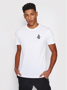 Volcom Volcom T-Shirt C. Vivary Fa A5212106 Λευκό Regular Fit