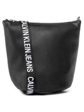 Calvin Klein Jeans Calvin Klein Jeans Sac à main Mini Bucket Python K60K606865 Noir