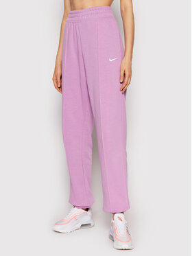 Nike Nike Долнище анцуг Sportswear Essential BV4089 Виолетов Loose Fit