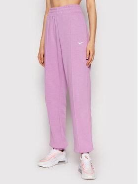 Nike Nike Sportinės kelnės Sportswear Essential BV4089 Violetinė Loose Fit