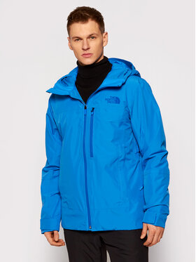 The North Face The North Face Lyžařská bunda Descendit NF0A4QWWW8G1 Modrá Regular Fit