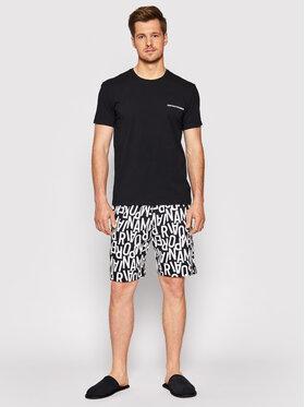 Emporio Armani Underwear Emporio Armani Underwear Piżama 111893 1P506 98620 Czarny