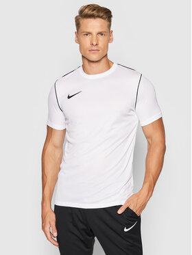 Nike Nike Тениска от техническо трико Dri-Fit BV6883 Бял Regular Fit