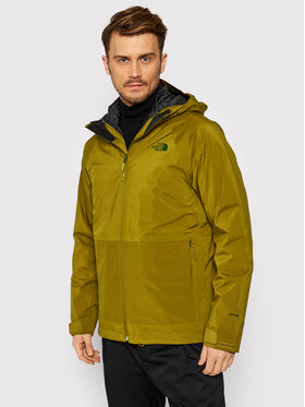 The North Face The North Face Geacă multifuncțională Thermoball Eco Triclimate NF0A4R2K5TU Verde Standard Fit