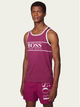 Boss Boss Tank top Beach 50426332 Violet Regular Fit