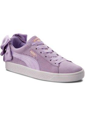 Puma Puma Sneakersy Suede Bow Jr 367316 03 Fialová