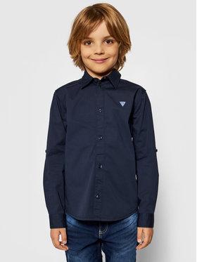Guess Guess Camicia L81H14 W7RY0 Blu scuro Regular Fit