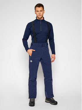 Descente Descente Lyžařské kalhoty Swiss DWMQGD40 Tmavomodrá Tailored Fit