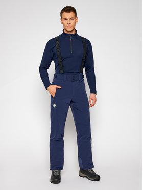 Descente Descente Lyžiarske nohavice Swiss DWMQGD40 Tmavomodrá Tailored Fit