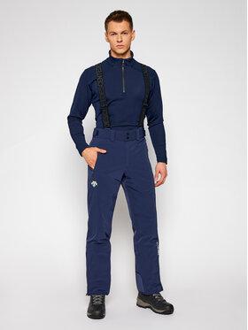 Descente Descente Pantaloni da sci Swiss DWMQGD40 Blu scuro Tailored Fit