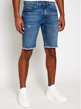 Versace Jeans Couture Versace Jeans Couture Pantaloni scurți de blugi A4GWA177 Albastru Regular Fit