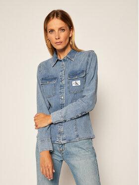 Calvin Klein Jeans Calvin Klein Jeans Košile J20J214022 Modrá Regular Fit