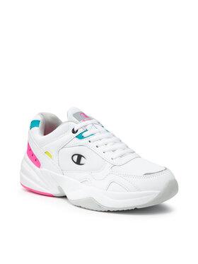 Champion Champion Sneakersy Low Cut Shoe Philly S10921-S21-WW001 Bílá