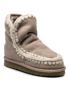 Mou Mou Buty Eskimo18 00000288 Beżowy