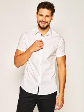 Emporio Armani Emporio Armani Koszula 3H1C10 1N6RZ 0100 Biały Slim Fit