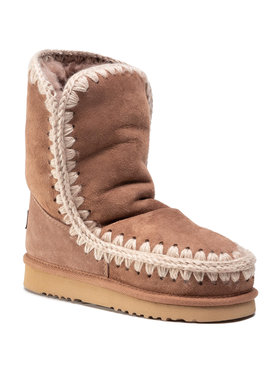Mou Mou Buty Eskimo Boot 24 FW101000A Brązowy