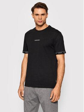Calvin Klein Calvin Klein T-Shirt Archive Logo Tape K10K108185 Μαύρο Regular Fit
