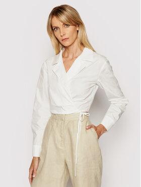 NA-KD NA-KD Блуза 1018-006811-0001-581 Бял Regular Fit