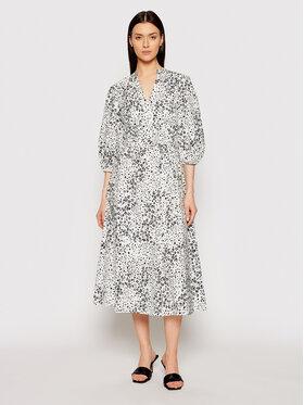 DKNY DKNY Sukienka koszulowa DD1AM347 Biały Regular Fit