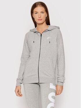 Nike Nike Mikina Sportswear Essential BV4122 Sivá Standard Fit